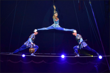 Gostinitsa - Hotel of curiosities:  Moscow State Circus 2018