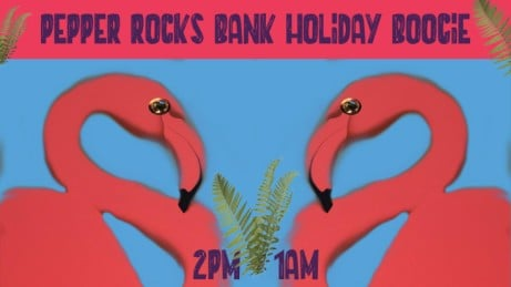 Pepper Rocks Bank Holiday Boogie - FREE ENTRY