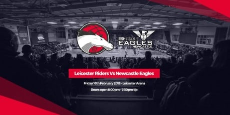Leicester Riders v. Newcastle Eagles