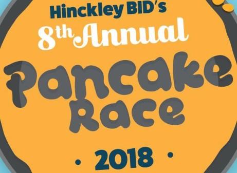 Hinckley Pancake Race