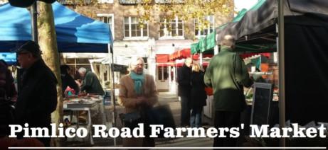 Pimlico Road Farmers' Market. Every Saturday 9am-1pm