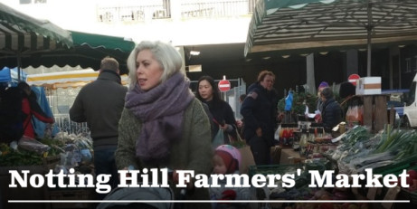 Notting Hill Farmers' Market. Every Saturday 9am-1pm.