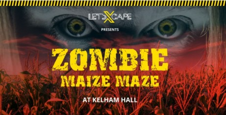 Can you escape the Zombie Maize Maze: 25th - 26th August!