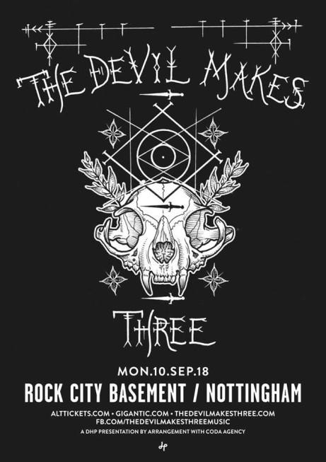 The Devil Makes Three at Rock City Basement