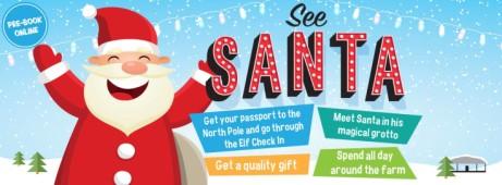 See Santa at Cannon Hall Farm