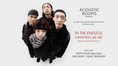 Open Mic w/ Korean band: In The Endless Zanhyang We Are