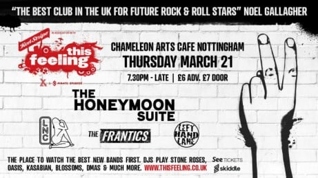 This Feeling - Notts w/ The Honeymoon Suite, LNC, The Frantics