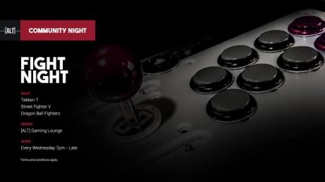 Fight Night Community Night