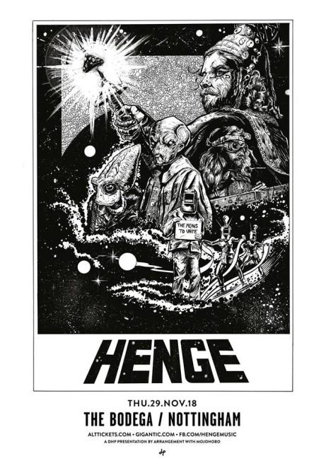 HENGE - Attention Earth! Album Tour
