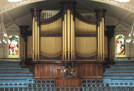 The Binns Organ in the Albert Hall