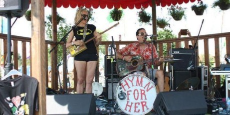 Hymn For Her + Hubcap |
