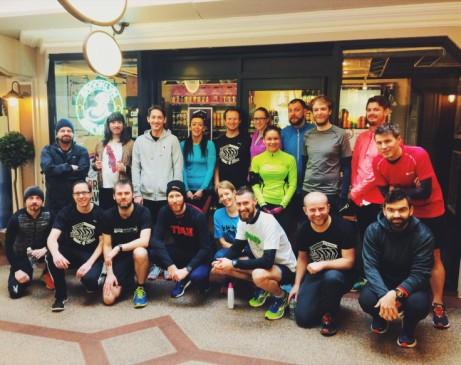 Mikkeller Running Club Nottingham #25 2nd Birthday Pub Run
