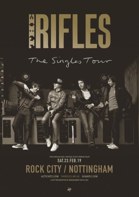 THE RIFLES - rescheduled show