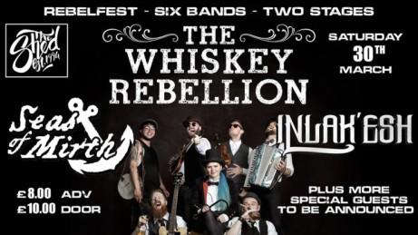 RebelFest - The Whiskey Rebellion, Seas Of Mirth, Inlak'esh