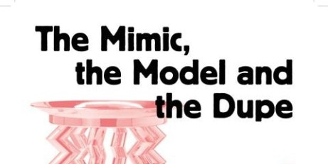 Mike Cooter artist's exhibition tour of The Mimic, the Model and the Dupe