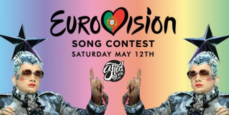 EUROVISION 2018 - Live on a 15ft LED Screen at The Shed!