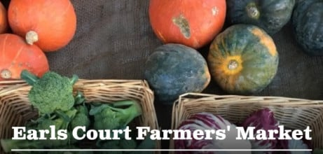 Earls Court Farmers' Market. Every Sunday 10am-2pm