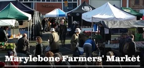 Marylebone Farmers' Market. Every Sunday 10am-2pm