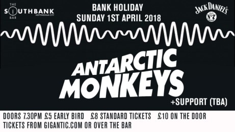 Antarctic Monkeys Live! Easter Sunday 2018