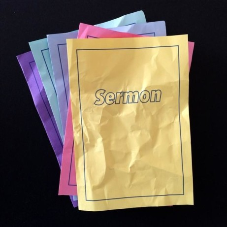 WHAT ARE THE SERMONS WE NEED TODAY?