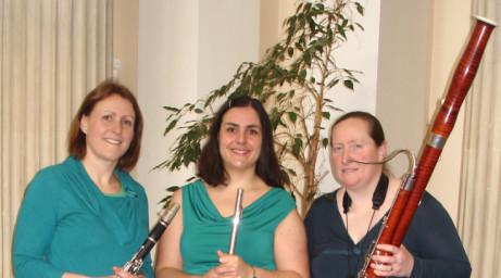 Worcester Concert Club presents: Trio Ebano