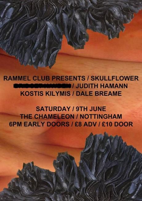 Skullflower, Judith Hamann, Kostis Kilymis + Dale Breame