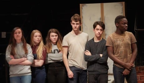 THESE BRIDGES New Vic Youth Theatre Production