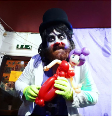 COCK-KANE THE CLOWN (UK) AND THE MAGIC BOX