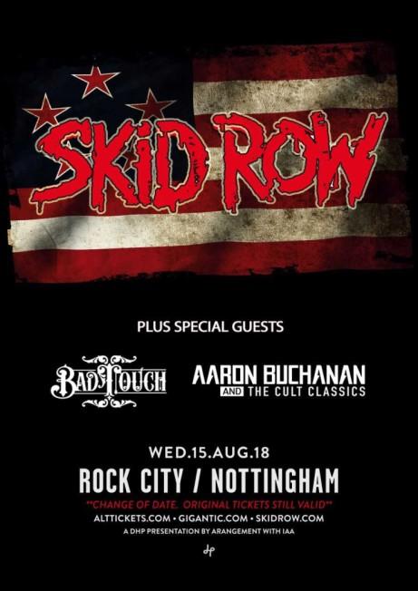 SKID ROW *rescheduled date*