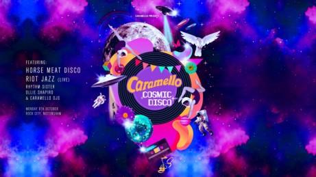 Caramello - The Cosmic Disco Launch Party