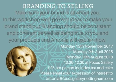 Branding To Selling Workshops