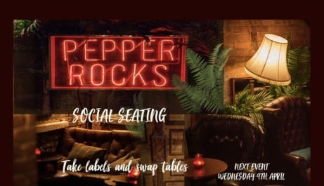 Social Seating at Pepper Rocks