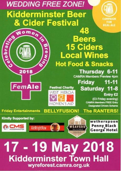 Kidderminster Beer & Cider Festival