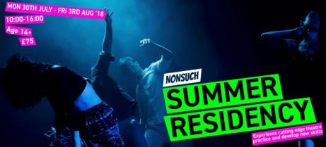 Nonsuch Summer Residency 2018