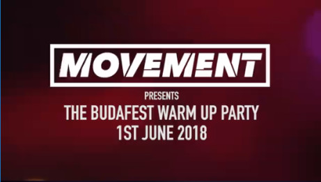 MOVEMENT - The Budafest Warm-up Party!