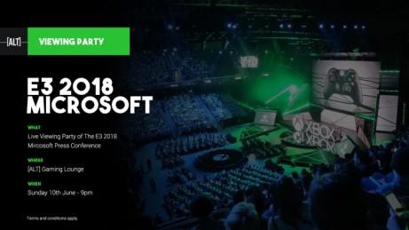 Microsoft - E3 2018 Viewing Party