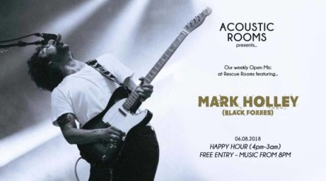 ACOUSTIC ROOMS: MARK HOLLEY (BLACK FOXXES)