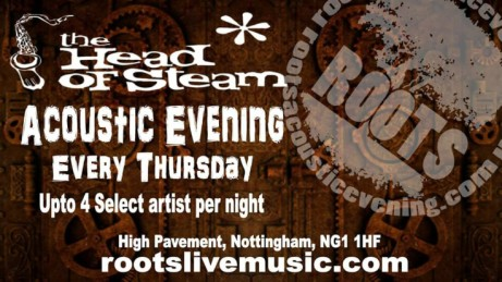 Head Of Steam - Nottingham - Roots Live Music