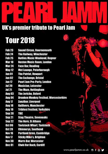 Pearl Jamm (Pearl Jam Tribute) LIve in Nottingham