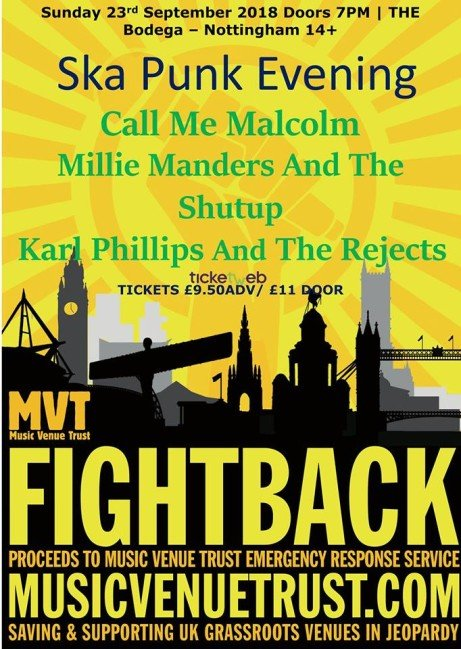 Call Me Malcolm / Mmatsu / Karl Phillips And The Rejects