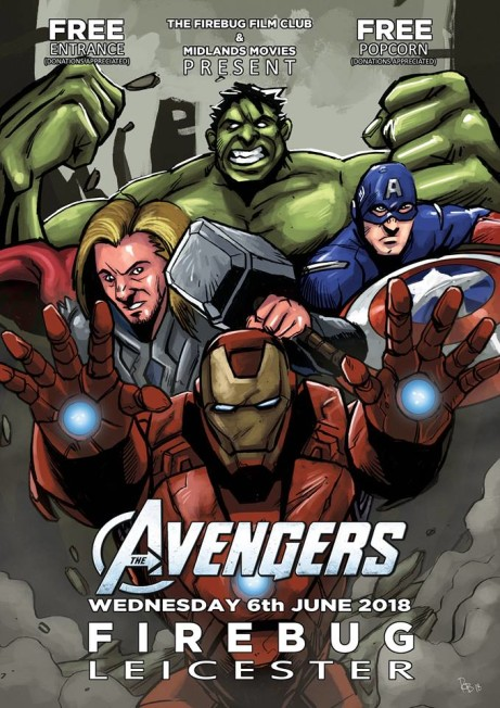 Midlands Movies Presents: The Avengers!