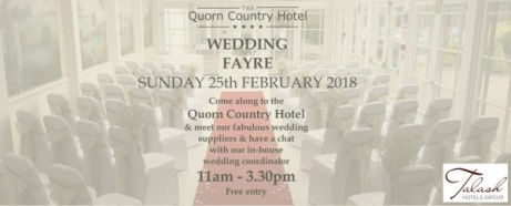Quorn Country Hotel Wedding Fair