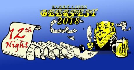 Fleet Lions Beer Festival 2018