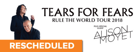 TEARS FOR FEARS + Alison Moyet THE RULE THE WORLD TOUR