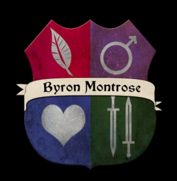 THE FALL OF BYRON MONTROSE POET GENTLEMAN LOVER