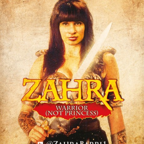 ZAHRA BARRI: 'ZAHRA: WARRIOR, NOT PRINCESS'