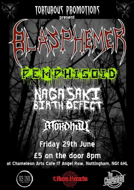 Blasphemer + Pemphigoid + Nagasaki Birth Defect + Mordhau