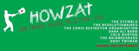 Saltburn Howzat Music Festival