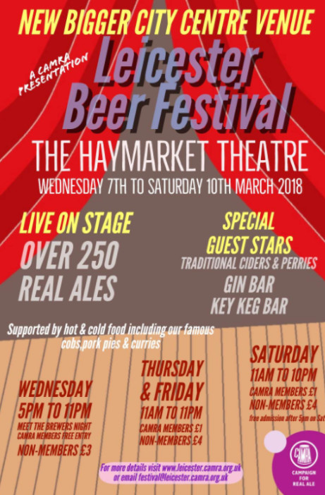 Leicester Beer Festival 2018