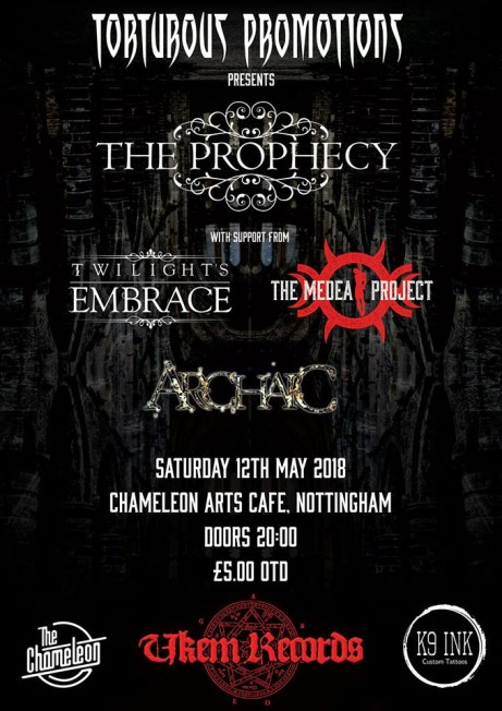 The Prophecy + Twilight's Embrace + The Medea Project + Archaic